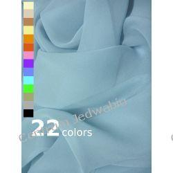 ŻORŻETA gofrowana 100% jedwab na bluzki sukienki szale