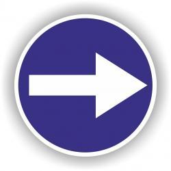 Znak drogowy typu B,C duży