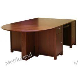 Duże biurka SP-B82-LP z dostawką