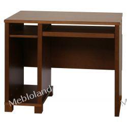 Małe biurko pod komputer Palermo B79 Buk Kolor Koniak