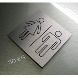 Piktogram Symbol Znak WC Toaleta KOEDUKACYJNA Muzyka i Instrumenty