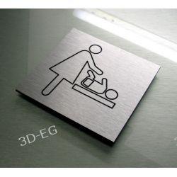 Piktogram Symbol Znak srebro aluminium PRZEWIJAK Pozostałe