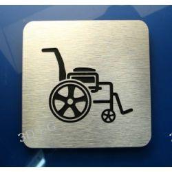 Piktogram, Symbol, WC dla Niepełnosprawnych, ALU R