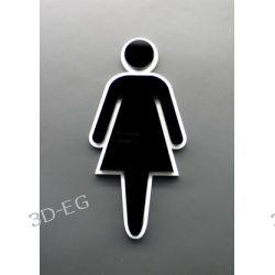 Piktogram, Symbol, Znak, WC dla Kobiet, pleksi