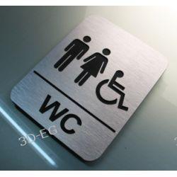 Piktogram  WC  Kodedukacyjne dla Niepełnosprawnych Muzyka i Instrumenty
