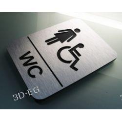 Piktogram, Symbol,  WC,  Niepełnosprawne Kobiety J Identyfikatory