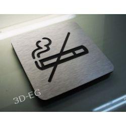 Piktogram, Symbol, Zakaz Palenia 10 x10 cm J Tablice i szyldy