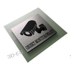 Obiekt Monitorowany - Tabliczka Piktogram Dibond Tablice i szyldy