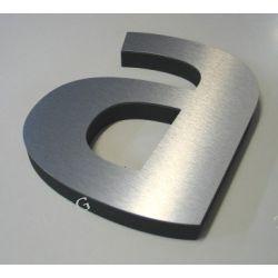 Litery loga  cyfry napisy styrodur-DIBOND wys 35cm Reklama zewnętrzna