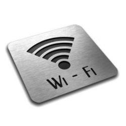 Piktogram, Symbol, Wi-FI aluminium 10 x10 cm IN Tablice i szyldy