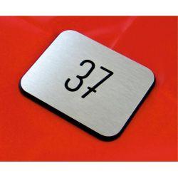 Numer, numery wycinane w DIBOND 8 x 10 cm  A Obrazki i obrazy