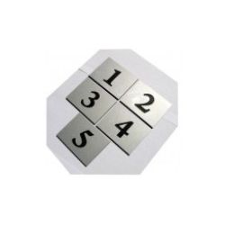 Numer Numery Cyfry Grawerowane Drzwi AL pojedyncze