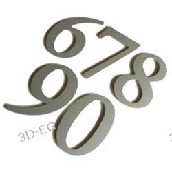 Numer, Numery, Cyfra, Cyfry na drzwi,  wys.12,5 AR Tablice i szyldy