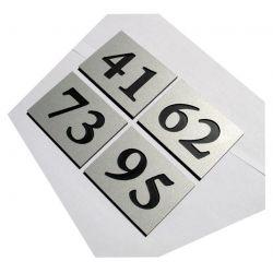Numer Numery Cyfry Grawerowane Drzwi AL podwojne