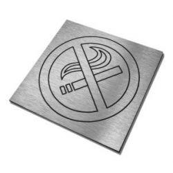 Piktogram, Symbol, Znak - ZAKAZ PALENIA 10x10cm Muzyka i Instrumenty