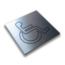 Piktogram, Symbol - TOALETA DLA NIEPEŁNOSPRAWNYCH