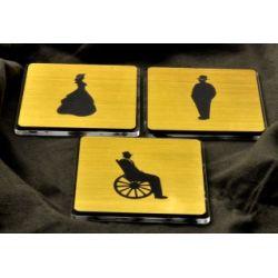 Piktogram, Symbol, Znak, grawer w stylu RETRO