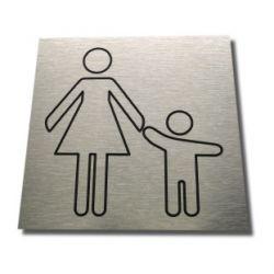 Piktogram Symb Znak Toaleta dla Matki z Dzieckiem