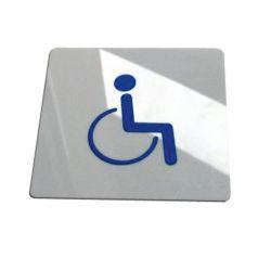 Piktogram, Symbol WC Toaleta dla Niepełnosprawnych Tablice i szyldy