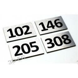 Numer Numery Cyfry Grawerowane na Drzwi AL C3