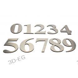 Numer Numery Cyfry Cyferki na Drzwi z aluminium Tablice i szyldy