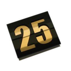 Numer Numery Cyfry Cyferki na Drzwi pleksi dwie