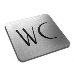 "Piktogram, Symbol, ""WC"" 10 x10 cm IN Kasetony"