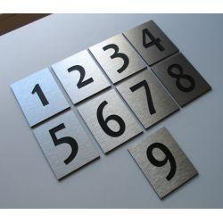 Numer Numery Cyfry Grawerowane na Drzwi AL1