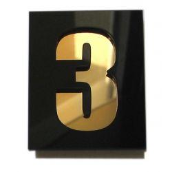 Numer Numery Cyfry Cyferki na Drzwi pleksi pojed Muzyka i Instrumenty