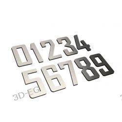 Numer Numery Cyfra na Drzwi, Dom z aluminium 10 cm Inne akcesoria