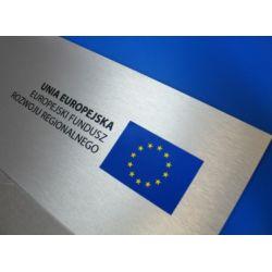 Tablice Unijne Informacyjne Pamiątki dibond pleksi Reklama zewnętrzna