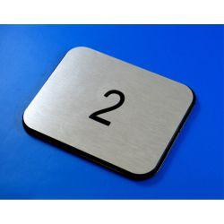 Numer, numery wycinane w DIBOND 8 x 10 cm  B Muzyka i Instrumenty