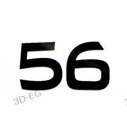 Numer Numery Cyfra na Drzwi Dom BA 17cm błysk mat Obrazki i obrazy