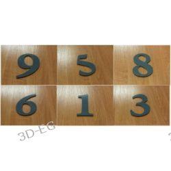 Numer, Numery, Cyfra, Cyfry na drzwi, wys.12,5 ARG Kasetony