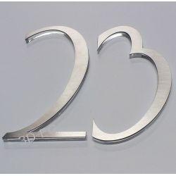 Numer Numery Cyfry Cyferki  ze stali ADOLPHUS Muzyka i Instrumenty