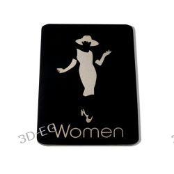 Piktogram Symbol Znak Tolaeta WC dla Kobiet SE Obrazki i obrazy