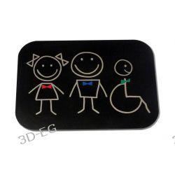 Piktogram Symbol Znak Wc Toaleta Wspólna SM Tablice i szyldy