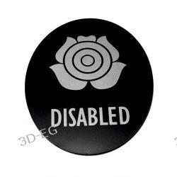 Piktogram Symbol Znak WC dla Niepełnosprawnych SK Muzyka i Instrumenty