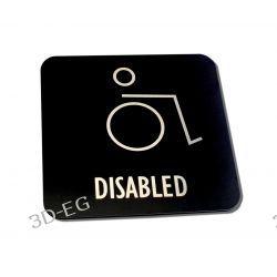 Piktogram Symbol Toaleta dla Niepełnosprawnych SG Dom i Ogród
