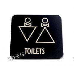 Piktogram Symbol WC Toaleta Koedukacyjna SG Dom i Ogród