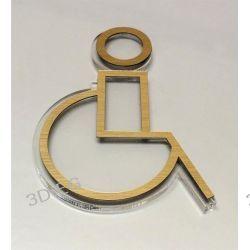 Piktogram Symbol Znak WC dla Niepełnosprawnych SL Muzyka i Instrumenty