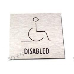 Piktogram Symbol Toaleta dla Niepełnosprawnych SŚS Dom i Ogród
