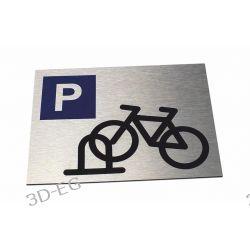 Tabliczka Stojak, Parking dla Rowerów 20x15 Pozostałe