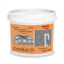 Tynk akrylowo-silikonowy EsteKor O - kornik 25kg