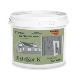 Tynk silikatowy EsteKor K - kornik 25kg