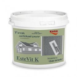 Tynk silikatowy EsteVit K - baranek 25 kg