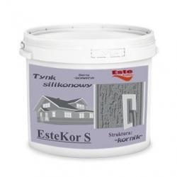 Tynk silikonowy EsteKor S - kornik 25kg