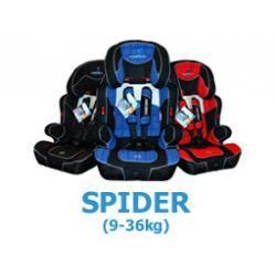 Fotelik samochodowy Spider 2010 Caretero 9-36 kg