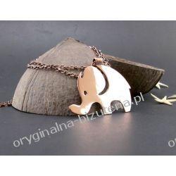 Naszyjnik - Szczęśliwy słonik Pierścionki