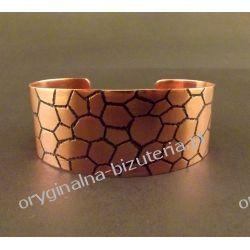 Mozayka - Miedziana bransoleta